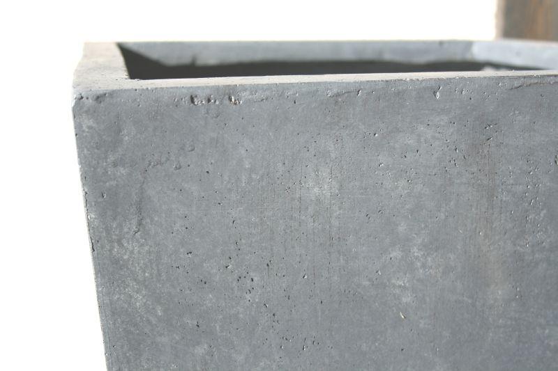 fiberglas blumenk bel pflanzk bel konisch grau nr 2128 ebay. Black Bedroom Furniture Sets. Home Design Ideas